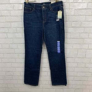 🎯 ST. JOHNS BAY MID RISE STRAIGHT JEANS 14
